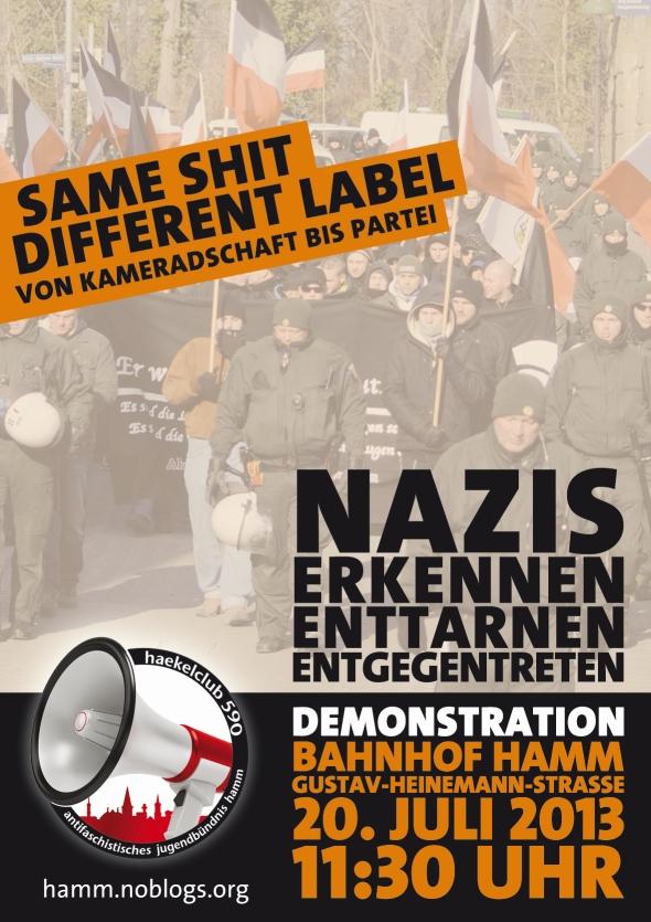 Naziaufmarsch Hamm